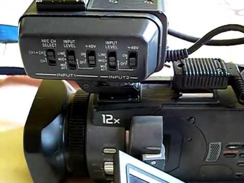 profi-3CCD Mini DV kamera SONY DSR-PDX 10P
