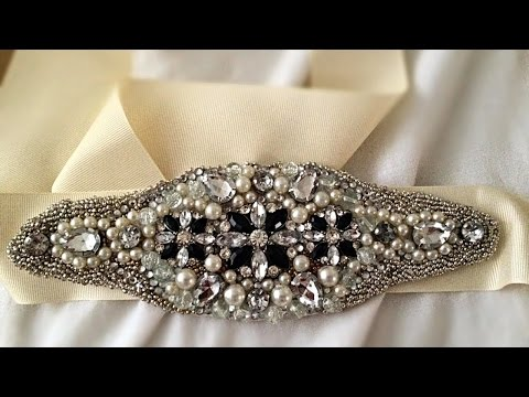 How To Make a Bridal Inspired Embellished Belt - DIY Style Tutorial - Guidecentral
