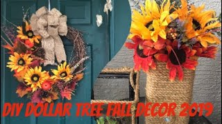 Download DIY Fall Floral Arrangements/ DIY Fall Wreath, Home Decorating Ideas, Easy Crafts In Minutes 2019 Video
