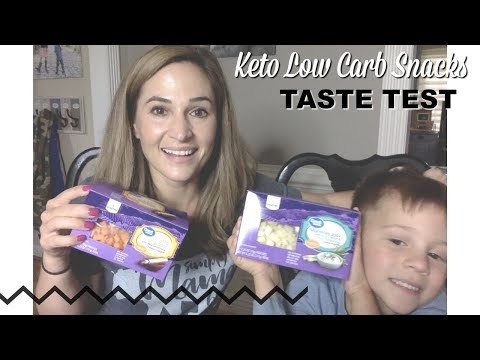 Low Carb Walmart Snacks Taste Test