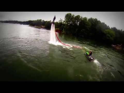Flyboard clips