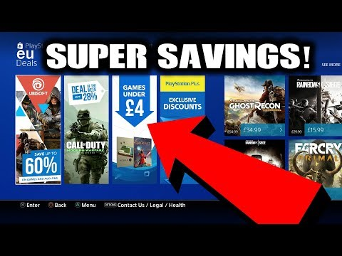 PS4 Games UNDER £4 WHAT!? Super Cheap Games on Sale This Week!