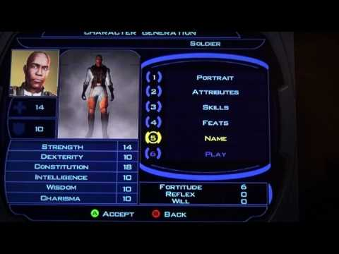 Star Wars KOTOR (\|/) Warric Suronenot Pt 1: Character Build