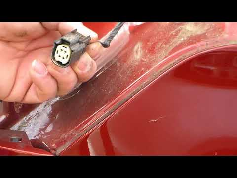 2016 Ford Escape Rear Brake Light Bulb Replacement