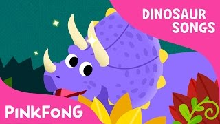 Triceratops | Dinosaur Songs | Pinkfong Songs for Children
