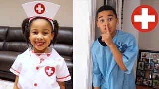 Doctor Girl Best Moments | FamousTubeKIDS