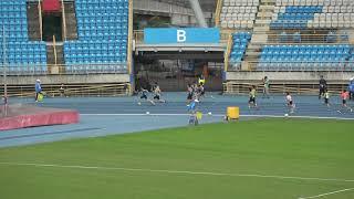 107學年度台北市小學運動會男生組4*100公尺接力決賽