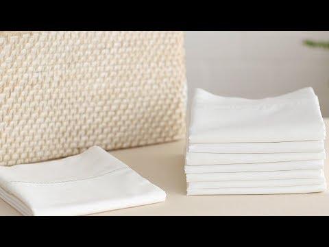 How to Fold a Pillow Case- Martha Stewart
