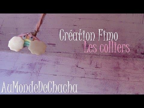 ♣ Création fimo ♣ Les Colliers ♣ Semaine de la création