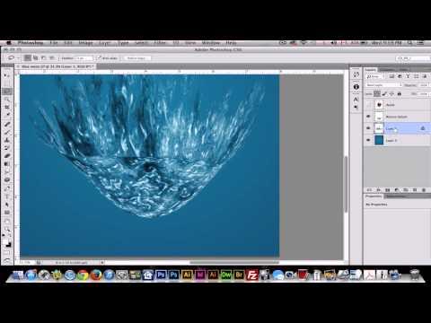 Big Splash Effect - Tutorial Adobe Photoshop CS6