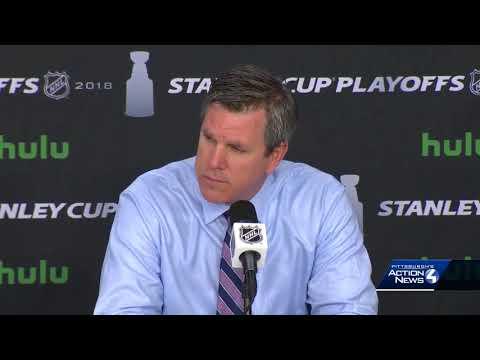 Capitals eliminate Penguins: Mike Sullivan's postgame news conference