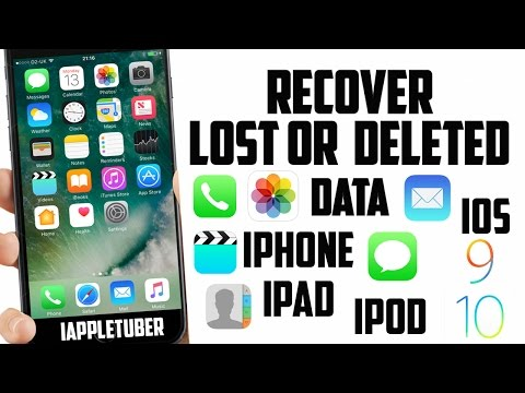 How to Recover Deleted/ Lost Photos, Videos, Text Messages, Contacts & More