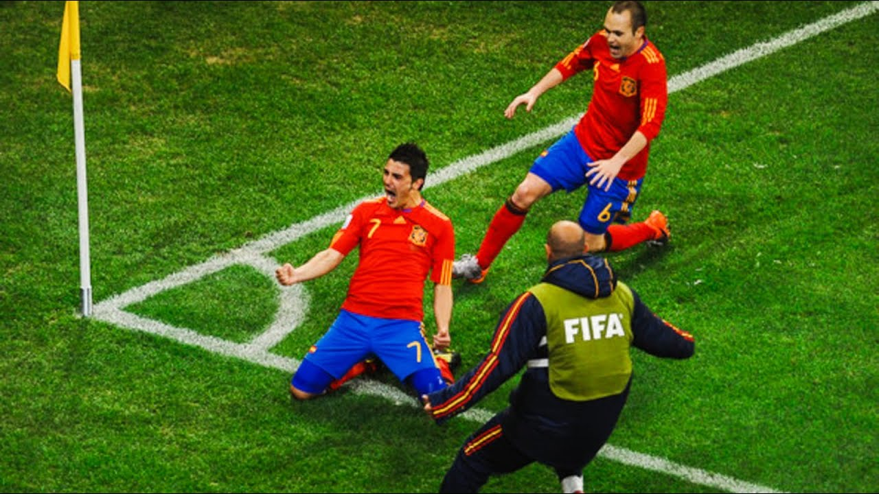Spain ● Road to the World Cup Victory - 2010