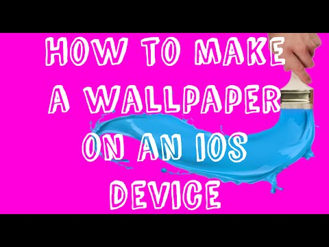 How to make a custom collage wallpaper on iOS