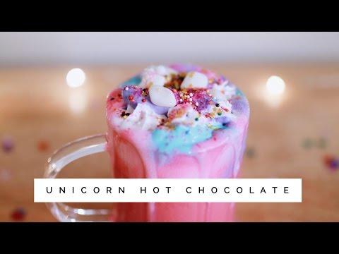 Unicorn Hot Chocolate. 🦄☕️💖
