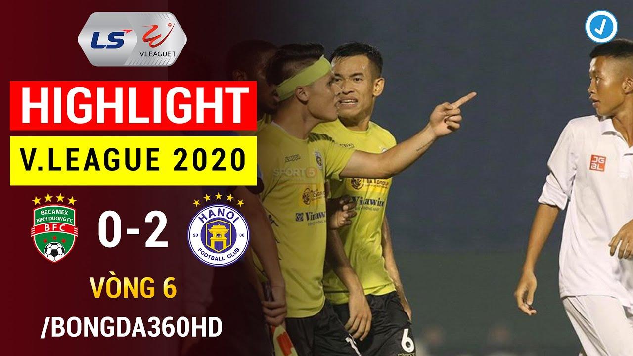Highlight | Becamex Bình Dương 0-2 Hà Nội FC | Vòng 6 V.League 2020