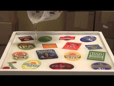 Sticker Bartop Epoxy Tutorial