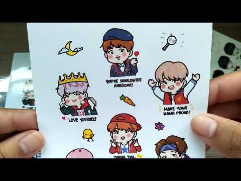 BTS Fansite Stickers