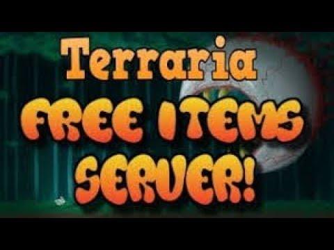 all item terraria server