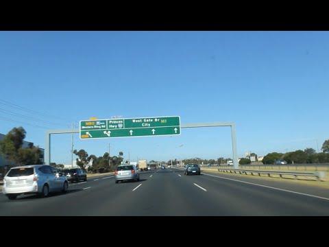 Geelong to Melbourne via. Princes Freeway