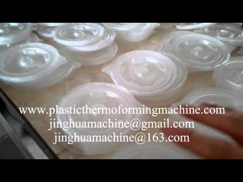 mini Plastic thermoforming machine for disposable container and lids