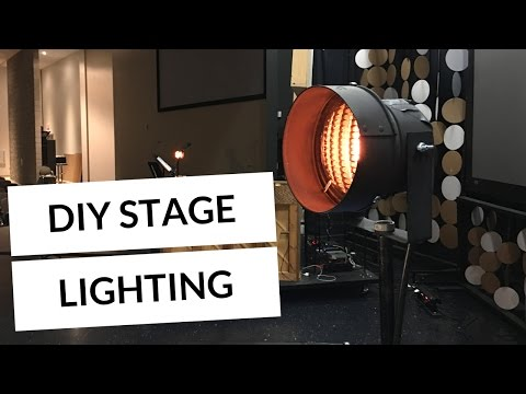 How to light your worship band with DIY COTM Dewey stand lamps