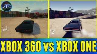 Forza Horizon 2 : Fast And Furious - Xbox 360 vs Xbox One (Map, Graphics, Nitrous)