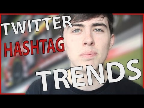 Twitter hashtag trends - Dijitul Friday