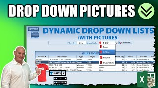 Learn How To Create This  Amazing Dynamic Drop Down List With Pictures In Excel Today