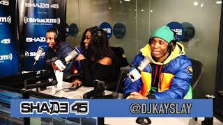 183rd and Malloy live interview on Shade 45 with Dj Kayslay