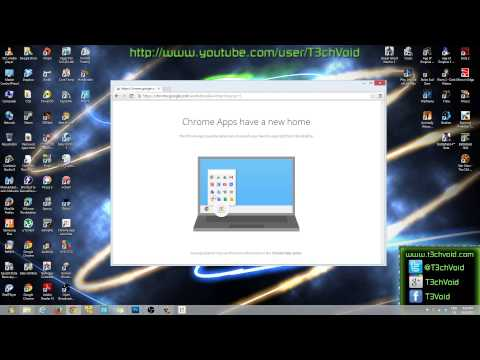 HOW-TO: Install and Use Google Chrome App Launcher on Windows 8