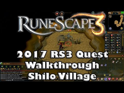 RS3 Quest Guide - Shilo Village - 2017(Up to Date!)