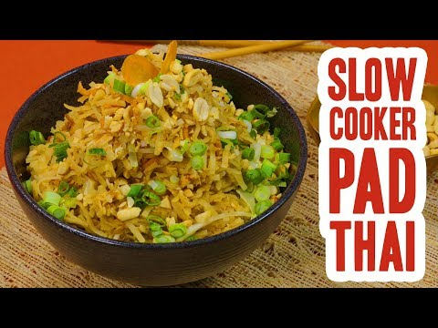 Slow Cooker Pad Thai
