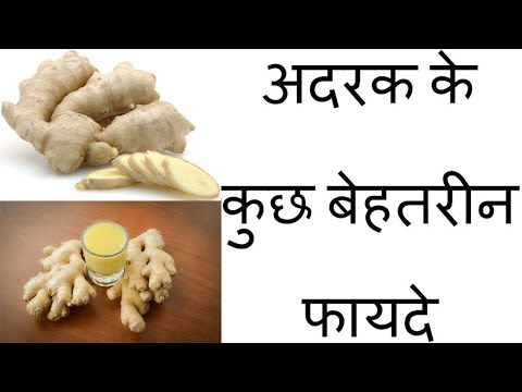 Amazing Benefits of Ginger to Health in Hindi || Health Tips