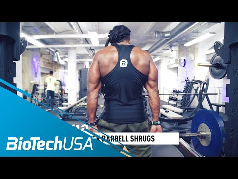 Traps Workout / Shrug Variations - Daily Routine with Ulisses - BioTechUSA