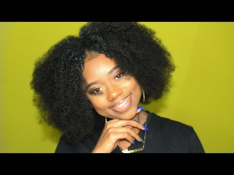 PERFECT CURLY AFRO - Add INCHES To Your FRO || BetterLength || Chev B