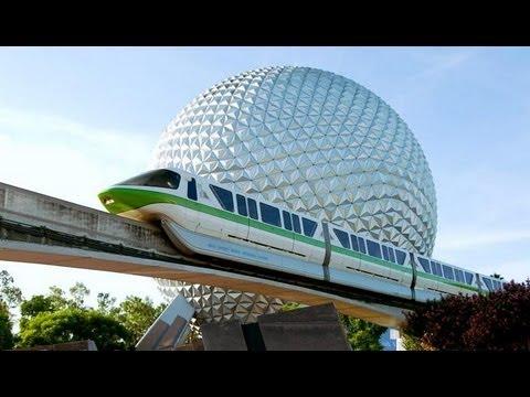 Walt Disney World Monorail Epcot to Magic Kingdom (On-Board) HD