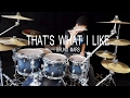 That's What I Like - Bruno Mars - Drum cover