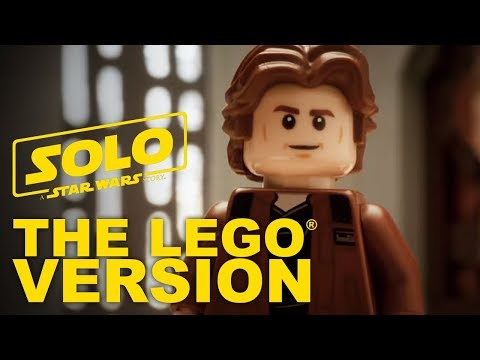 Solo: A Star Wars Story – LEGO Star Wars – Official Trailer (As Told with LEGO Bricks)