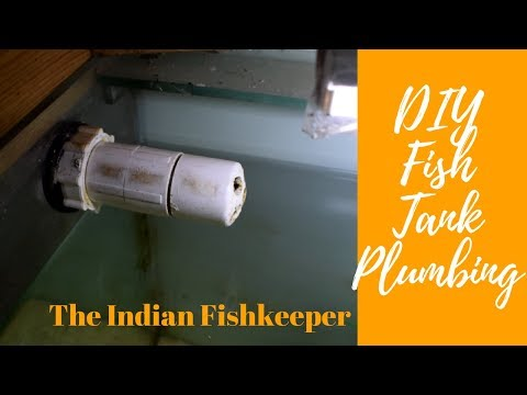How To Do Fish Tank Plumbing At Home  | DIY Simple Overflow For Sump FIlter