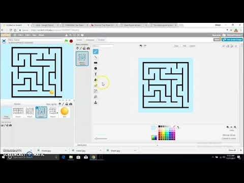 Scratch Tutorial : Maze Game