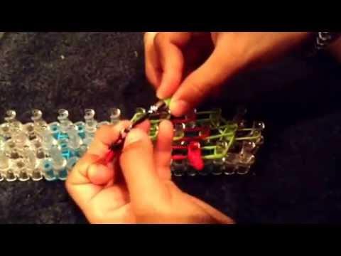 Ninja turtle charm- Rainbow Loom