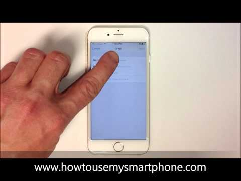 How to Set up Email - iPhone 6