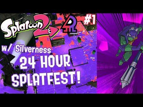 Splatoon 2 Splatfest #12 (Raph VS Donnie) Part 1 [CO-OP 24 HOUR SPLATFEST!!!]