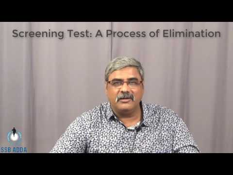 Screening Test: A Process of Elimination