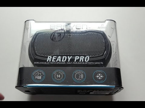 Braven Ready Pro Outdoor Bluetooth Speaker - Unboxing & Sound Test