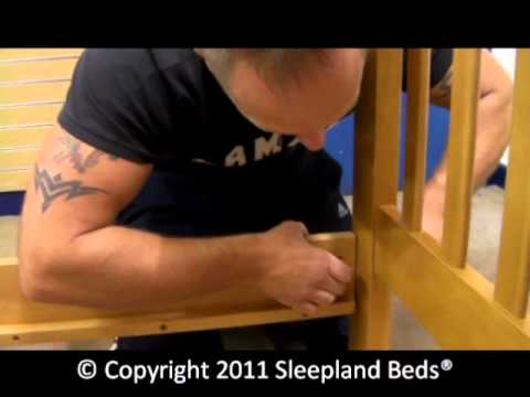 Cosmos Maple Bunk Bed Assembly PART 1