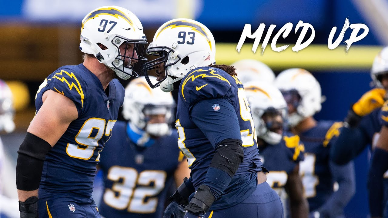 Best of Chargers Mic'd Up from 2020 Season | NFL Mic'd Up