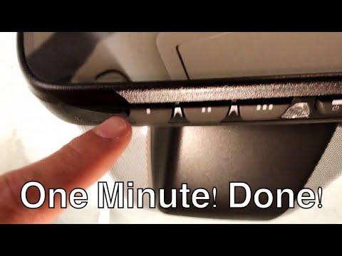 LEXUS: HOW TO PAIR TO GARAGE DOOR (1 MINUTE)