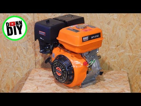 Homemade Portable Band Sawmill Build #12 - The Engine